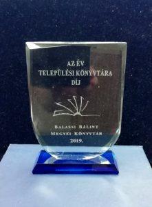 Az év települési könyvtára díj - 2019.